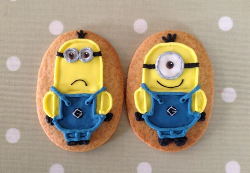 how to make a minion cookie