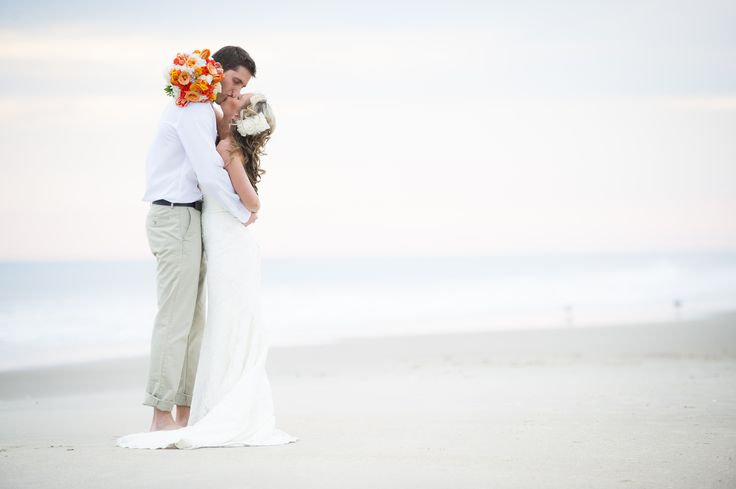 Beach Wedding Photography | Bald Head Island, NC