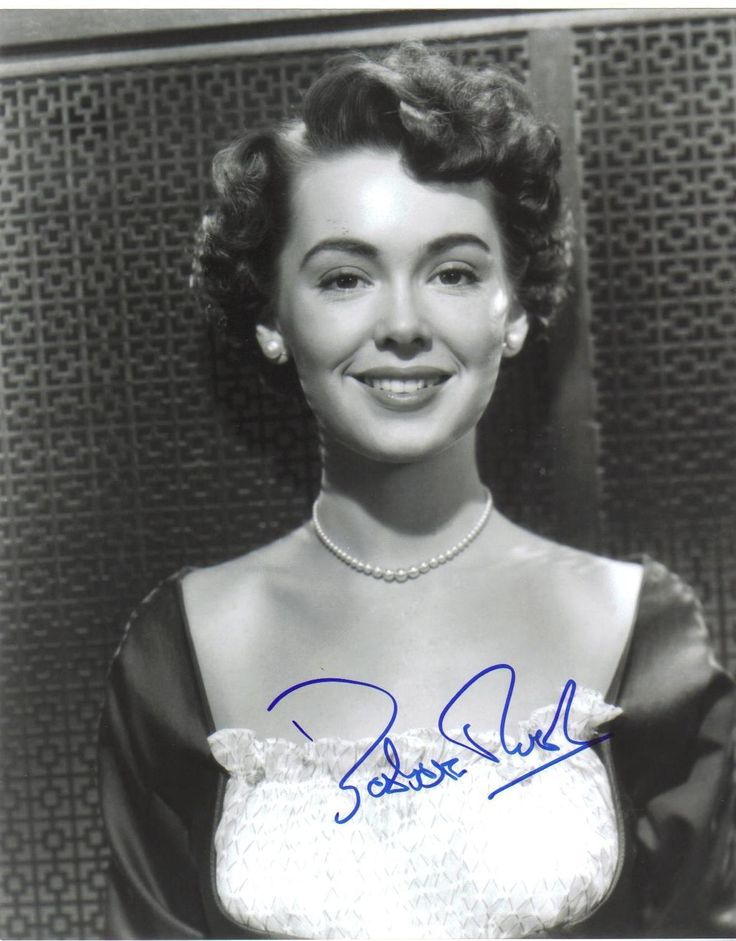 """Genuine Signed """" 10 x 8"""" Photograph by American Actress Barbara Rush 