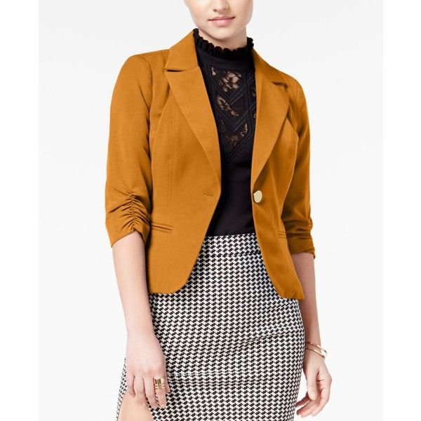 Top 25  best Orange blazer ideas on Pinterest | Orange blazer ...