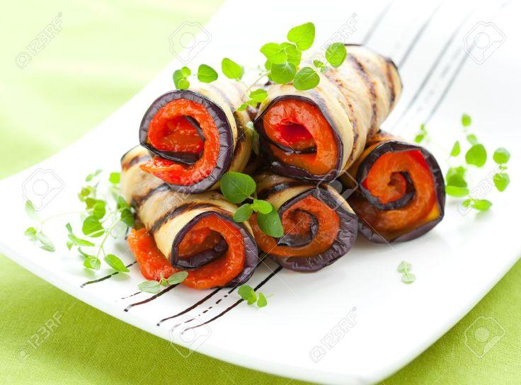 Una receta ideal para tu dieta: Rollitos de berenjena a la plancha | i24Web