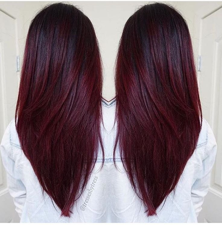 Superb 17 Best Ideas About Chocolate Red Hair On Pinterest Summer 2016 Hairstyles For Women Draintrainus