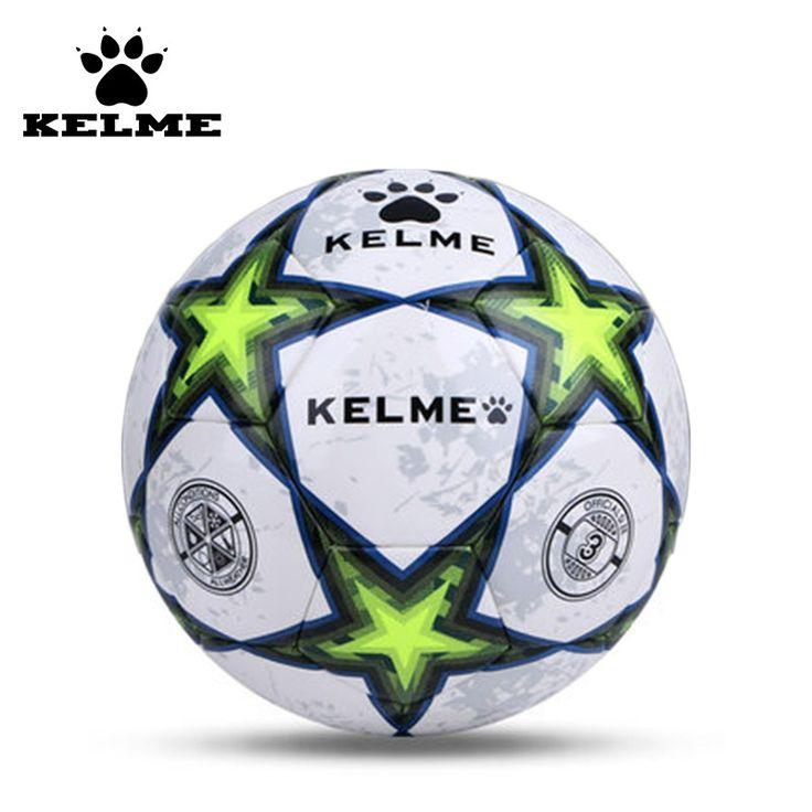 Tamaño 4 Tamaño 5 Del Balón de Fútbol KELME Grado Superior PU antideslizante Antideslizante Partido Estándar Competencia Entrenamiento fútbol 08