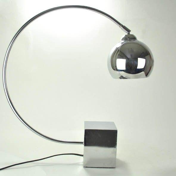 design lamp chroom