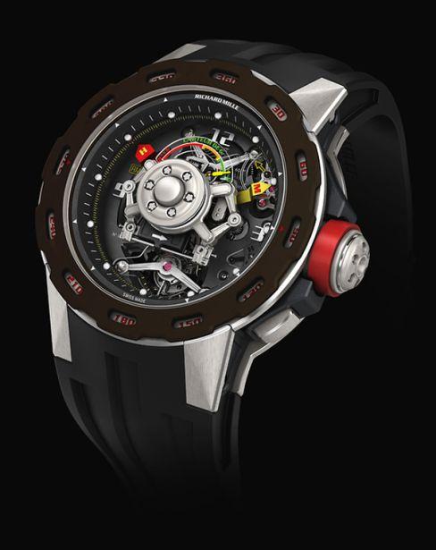 Richard Mille RM36-01- Sébastien Loeb, la montre au capteur de G