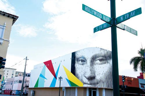 16 best boynton beach images on pinterest for Downtown hollywood mural project