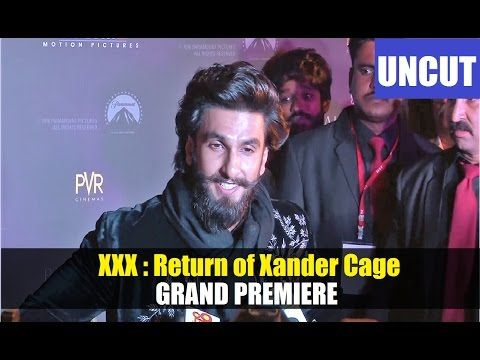 WATCH Ranveer Singh @ Grand Premiere of XXX Movie. Click to see full video >>> https://youtu.be/Yz0p7-OLtnE #ranveersingh #xxx #bollywood #bollywoodnews #bollywoodnewsvilla