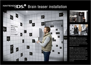 » Nintendo DSi advertising/design goodness – advertising and design blog: The best ads & designs and sometimes the worst around the globe.