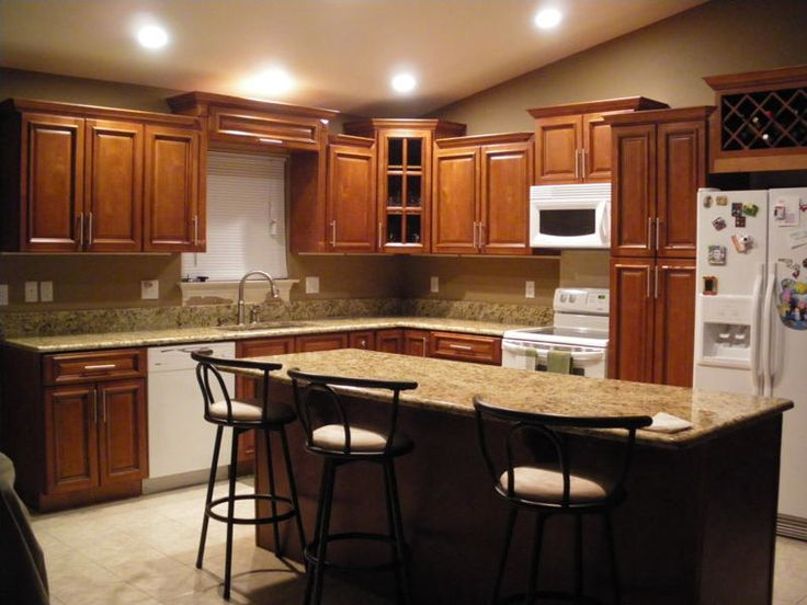 Kitchen L Shaped Kitchen Designs Also Wood Cabinets For L Shaped Kitchen Island Ideas Enticing L
