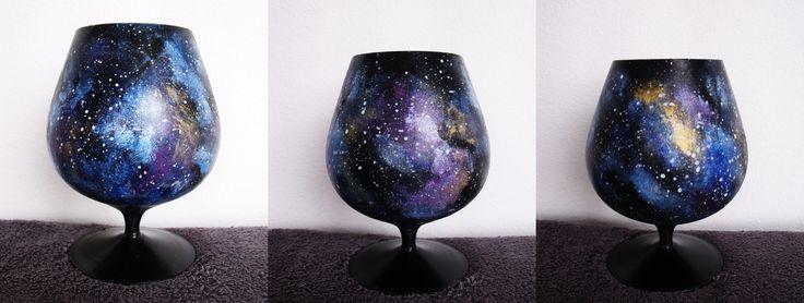 galaxy booze glass