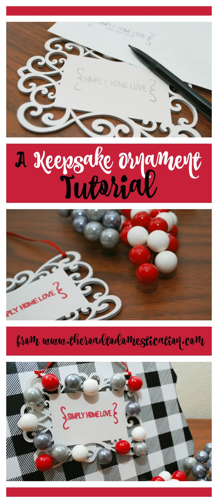 A how-to on making an ornament...and links to 80+ additional ornament tutorials!