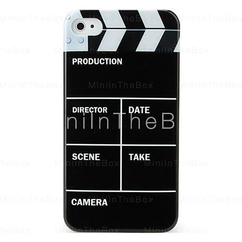 protetora caso abs difícil para (filmes) iphone 4 e 4S