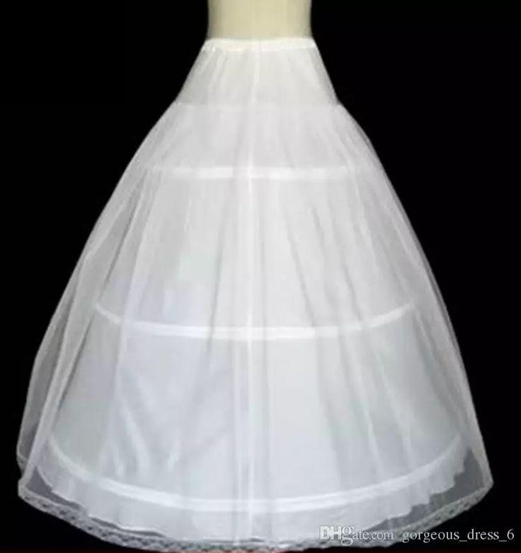 Ball Gown Petticoat Crinoline Three Hoops One Layer Quinceanera Dresses Petticoat Crinoline Have In Stock Hot Sale Black Crinoline Petticoat Brown Petticoat From Gorgeous_dress_6, $8.53  Dhgate.Com