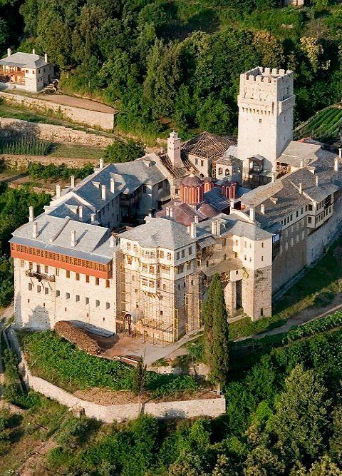 The Monastery of Karakallou, Mount Athos, Greece