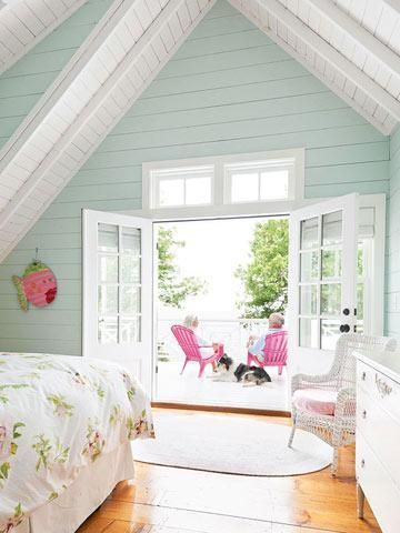 Nice House Tour: New Cottage With Vintage Style. Bedroom LightingMore ...