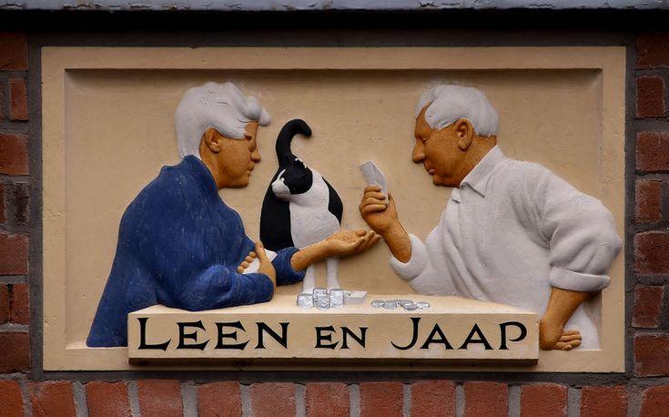 Gevelsteen LEEN EN JAAP | by Vereniging Vrienden van Amsterdamse Gevelstenen