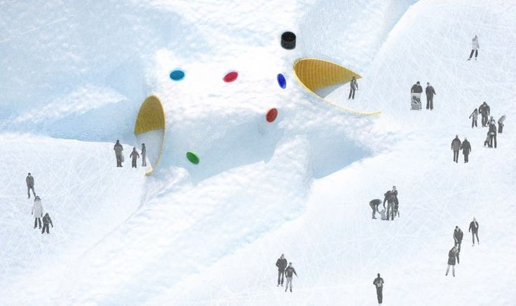 The Hole Idea designed by Weiss architecture and urbanism Ltd (Toronto) Hygge and urban spaces