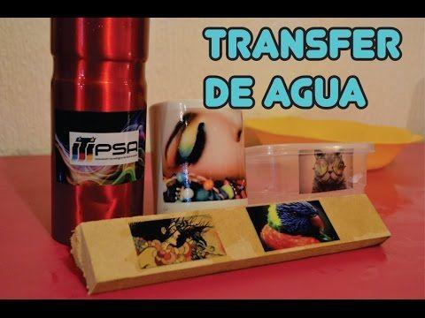 COMO HACER TRANSFER EN MADERA (TECNICA DE TRANSFER CASERA) - YouTube