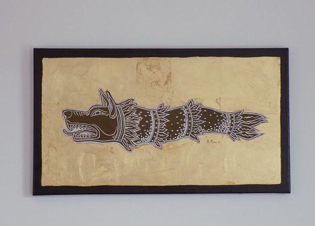 http://artintrans.blogspot.ro/2017/08/linocut-and-golden-foil-draco-painting.html