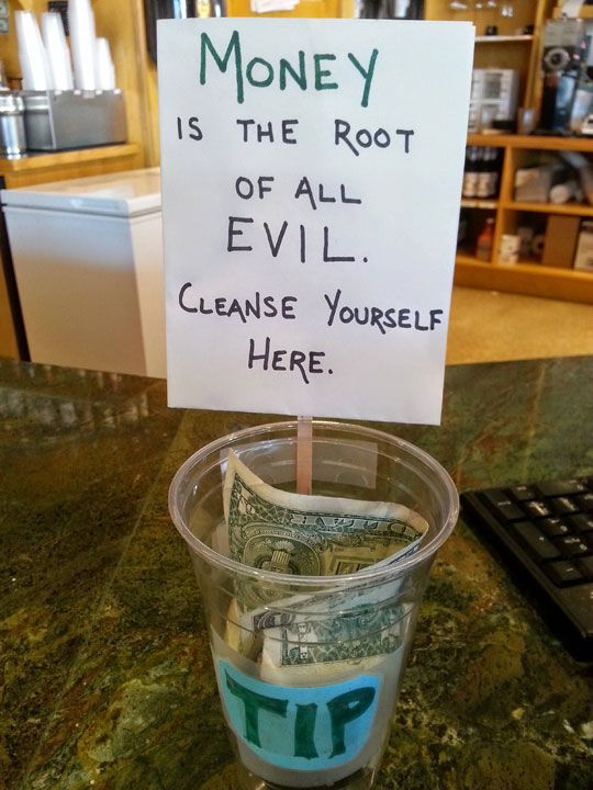 Best Tip Jar Idea Love Images On Pinterest Awesome Things - 21 brilliant tip jars guaranteed to make some money