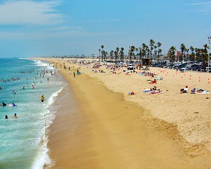 Southern California is famous for its beaches.