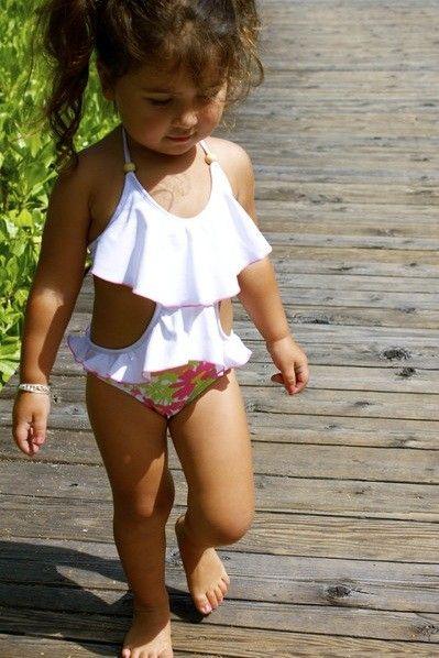 Kimi & Li 2014| Stella One Piece | Kids Bikinis  Nicdelmar.com