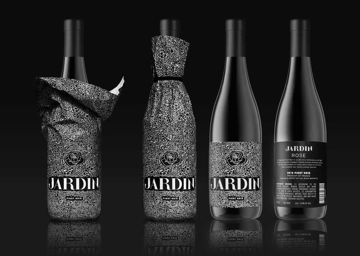 Jardin Wine Packaging (Concept) on Packaging of the World - Creative Package Design Gallery