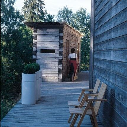 Une maison atelier à Helsinki : le culte de la nature