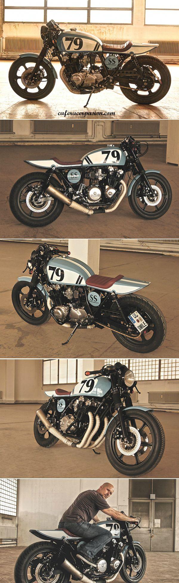 Honda cb900f bol dor cafe racer by Andrea Goldemann #motorcycles #caferacer #motos | caferacerpasion.com