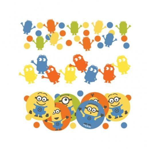 Minions confetti 34gr | Despicable me versiering en feestartikelen te koop bij Feestwinkel Altijd Feest; de online feestwinkel voor versieringen verjaardagen, bruiloft, kinderfeest en baby shower.