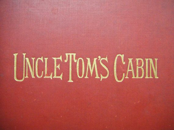 """Here's an amazing find you won't see every day! Uncle Tom's Cabin by """"Mrs. Stowe"""" (AKA Harriet Beecher Stowe 1811-1896) with a preface by the Earl of Carlisle. There is no date; however, my research leads me to believe the print date is 1853!   Feel free to do you own research and if I am wrong, please, let me know.  The book is in remarkable condition considering its probable age with very little damage."""