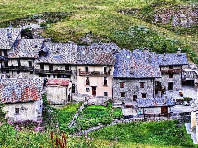 La Thuile valley, Valle d'Aosta.
