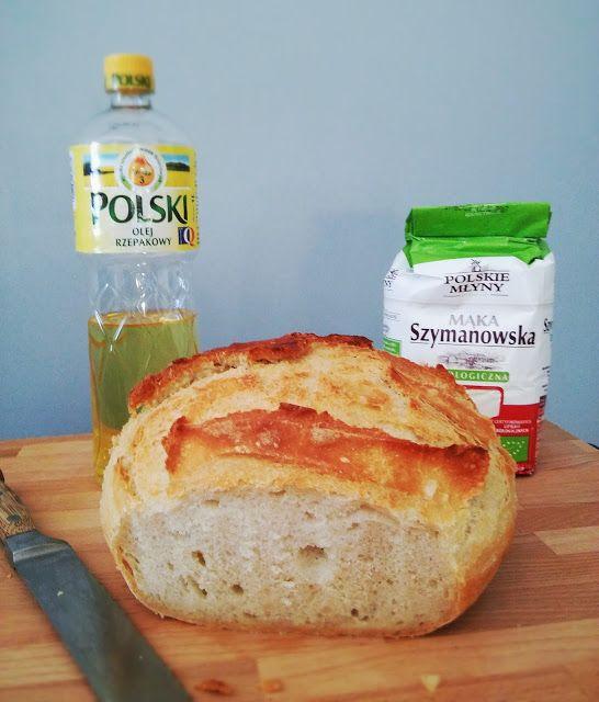 IMPRESJA smaku...: Chleb z chrupiącą skórką