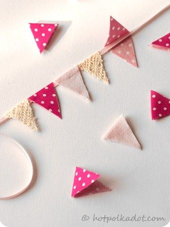 how to: bunting