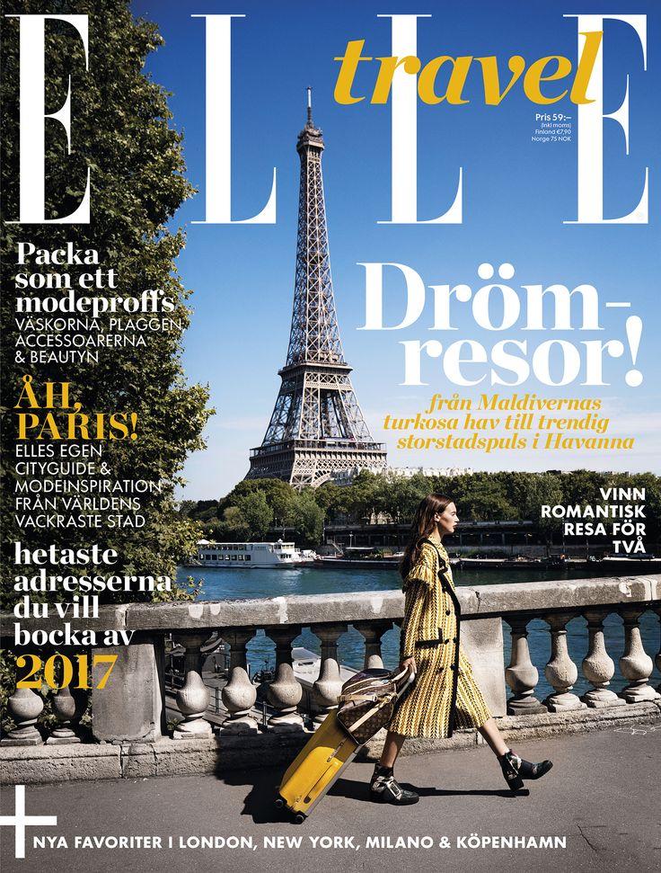 ELLE Travel –nya magasinet finns nu i butik!