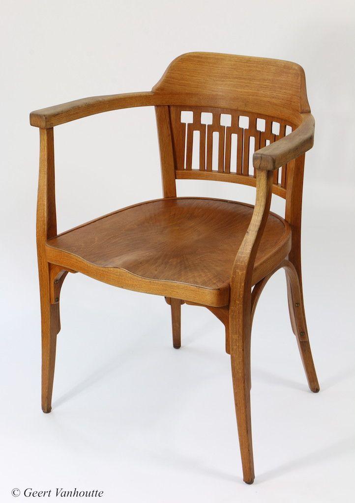 J J Kohn Fauteuil Nr 714 Design Gustav Siegel Ca 1899