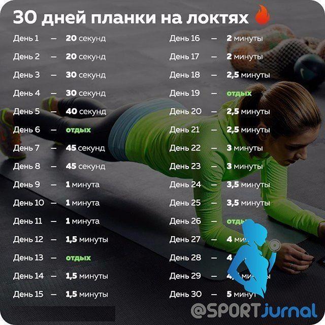 30 дней планки на локтях 👍  Ставим Лайк♥️, и Сохраняем себе📌 💪Ведь ПЛАНКА — прекрасное упражнение для тренировки всего тела. Оно укрепляет мышцы спины, пресса, ног и рук, улучшает гибкость, осанку и чувство равновесия. Это универсальное упражнение можно делать дома или в тренажёрном зале, в отпуске или после работы, утром или вечером, в спортивной экипировке или в пижаме. Делайте планку каждый день всего по несколько минут, и через месяц ваше тело преобразится. 🔥😍 Сделай из себя…