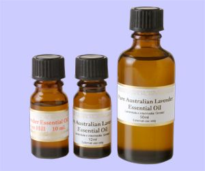 ESSENTIAL OIL By Warratina Lavender Farm. Pure lavender oil. Not diluted. Can be used directly onto the skin. Helps in the healing of burns eg: burn from the iron, steam from kettle, hot water. Apply to temples to help induce sleep & relieve a headache. Can be put on a damp duster to fragrance your home when dusting. A few drops in the rinsing cycle of the washing machine. On the dogs mat to repel fleas. On the filter of the vacuum cleaner to fragrance the carpet.