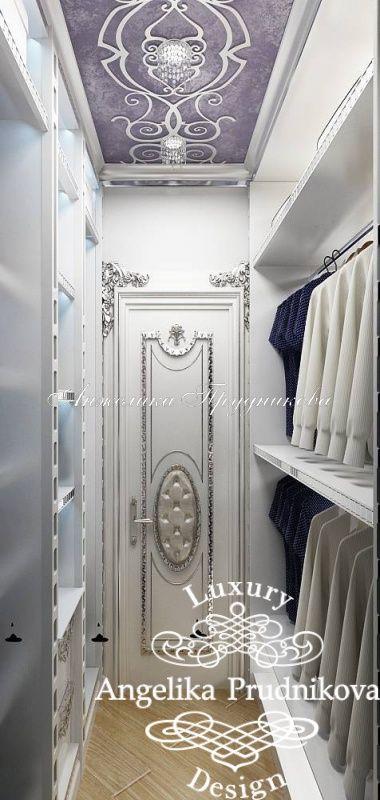 Интерьер двухуровневой квартиры в стиле Ар-Деко в Реутове - фото