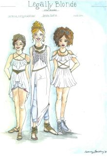 legally blonde musical costumes - Google Search