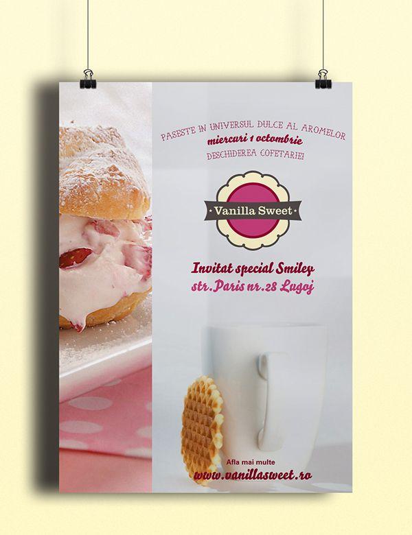 Vanilla Sweet Branding&Website on Behance