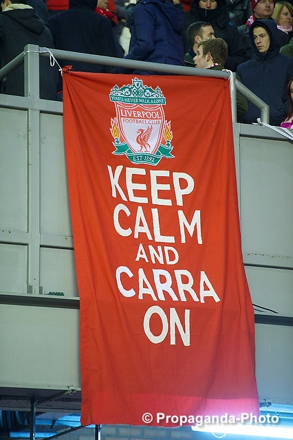 #Kopbanner: Keep Calm And Carra On… #LFC