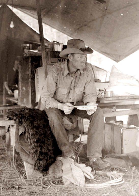 Cowboy - Montana, 1930's