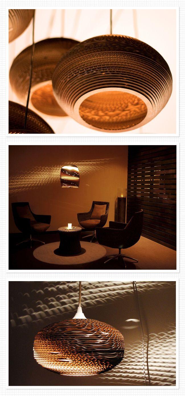 Cardboard lighting