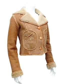 NORTH BEACH LEATHER Sheepskin jacket