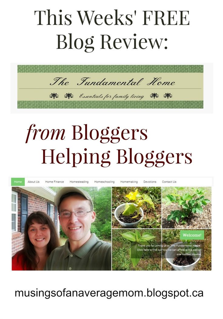 Musings of an Average Mom: Review of the Fundamentel Home