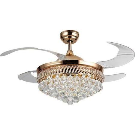 crystal chandelier ceiling fan combo - Google Search - Best 25+ Ceiling Fan Chandelier Ideas Only On Pinterest