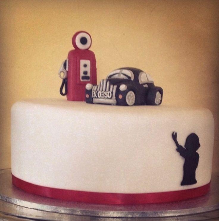 Car remake celebration cake