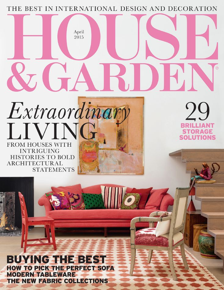 House Garden April 2015 Featuring Our Beautiful Steel Frame And Glass Screens