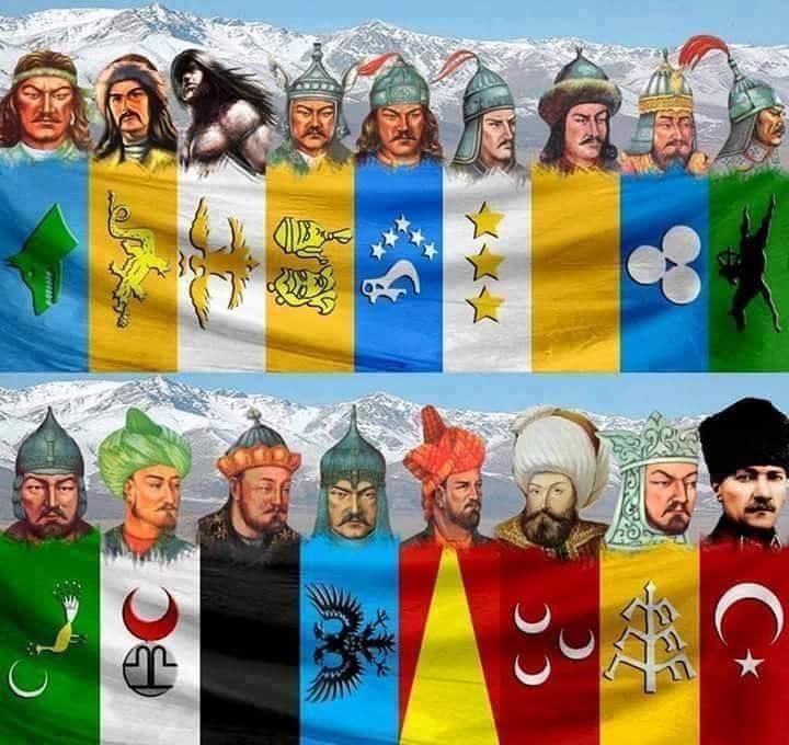 TÜRK ÖNDERLERİ
